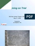 Training on Trial ASTD Mid-NJ May 21 09