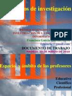 Primer seminario Grupos de investigación UCM - Códigos UNESCO y Ciencias de la Comunicación