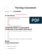 HEENT Nursing Assessment