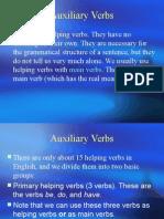 Auxilary Verbs