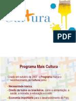 +cultura apresentação