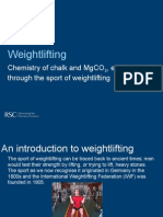 Chemistry and Sport - Weightlifting Presentation