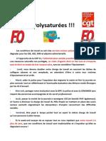 Transfert SSDP DASES Au CASVP Rassemblement Devant l'Hôtel de Ville