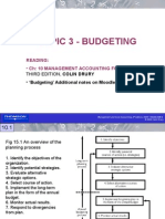 Topic 3 Budgeting Process 2010 SM