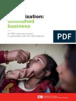 Immunization Advocacy Report 2010 English