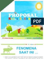 Ciliwung Proposal Kids