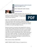 Toilet Terror of Transgender Texans