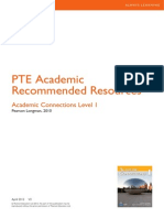 PTEA RR Academic Connections L1