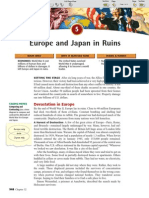 Ch 32 Sec 5 - Europe and Japan in Ruins