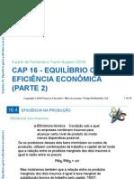 CAP 16 - EQUILÍBRIO GERAL E EFICIÊNCIA ECONÔMICA  (PARTE 2).ppt