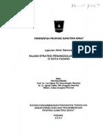 Studi Banjir Kota Padang