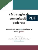 7 Estrategias de Comunicacion Poderosa