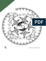 Ornate Fall Mandala Coloring Page - Woo! Jr