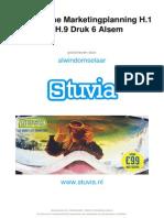 Stuvia 13389 Samenvatting Strategische Marketingplanning h.1 Tm h.9 Alsum Druk 6 Stuvia