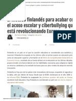 El Método Finlandés Para Acabar Con El Acoso Escolar y Ciberbullying Que Está Revolucionando Europa _ Muhimu