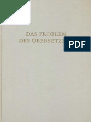 Wege Der Forschung_ Bd. 8) Hans Joachim Störig (Hg.) Das