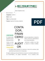 Contador, Auditor y Financiero