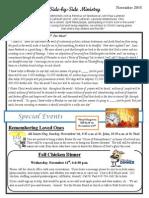 Newsletter, November, 2015 (1)