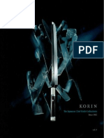Korin knife catalog