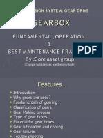Transmission system of Gear Box