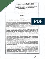 Ley 1083 de 2006 Colombia