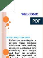 Reflective Teaching Ppt (1) (1)