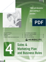 Marketing Plan and Business Rules 2012