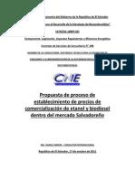 2011- Propuesta de Establecimiento de Precios en El Salvador