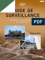 Guide de Surveillance Dans Le Chantier