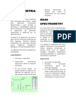 Paper -Espectometria de Masas