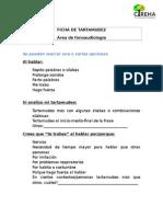 Ficha de Tartamudez