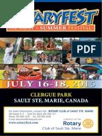 Rotaryfest Program 2015