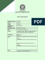 Agravo Regimental - Ação Popular - Coligações Partidárias Ilegais