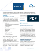 Accume November 2015 Compliance Monthly