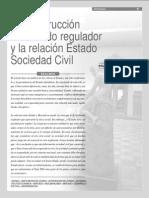 Araya Eduardo 2002. La Construcción Del Estado Regulador