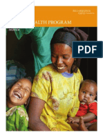 Global Health Program Overview