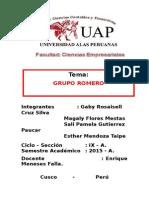 Trabajo Grupo Romero