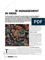 E-Waste Management in India-An Article