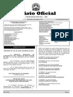 Diário Oficial de Chapadão do Sul