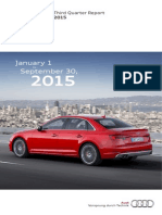 Audi Third Quarter Report 2015 English