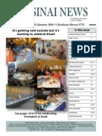 Sinai News Nov 2015-Jan 2016