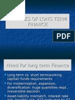 Sourcesof Long Term Finance