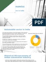 Automobile - Microeconomics India