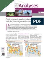 études Insee sur les équipements sportifs en Basse-Normandie