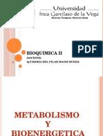 1. Metabolismo y Bioenergetica