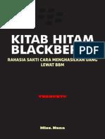 Kitab Hitam Blackberry- Rahasia Sakti Menghasilkan Uang Lewat BBM