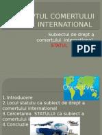 dreptul Comertului International