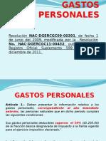 Gastos PersonalesQawsewr