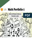 5th grade math portfolio 1 2015