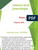 117768556 Abdomen Acut in Ginecologie